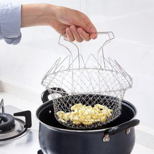 cos de bucatarie pentru prajirea alimentelor