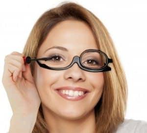 ochelari pentru machiaj