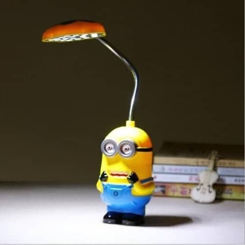 boxa bluetooth cu lampa led minion