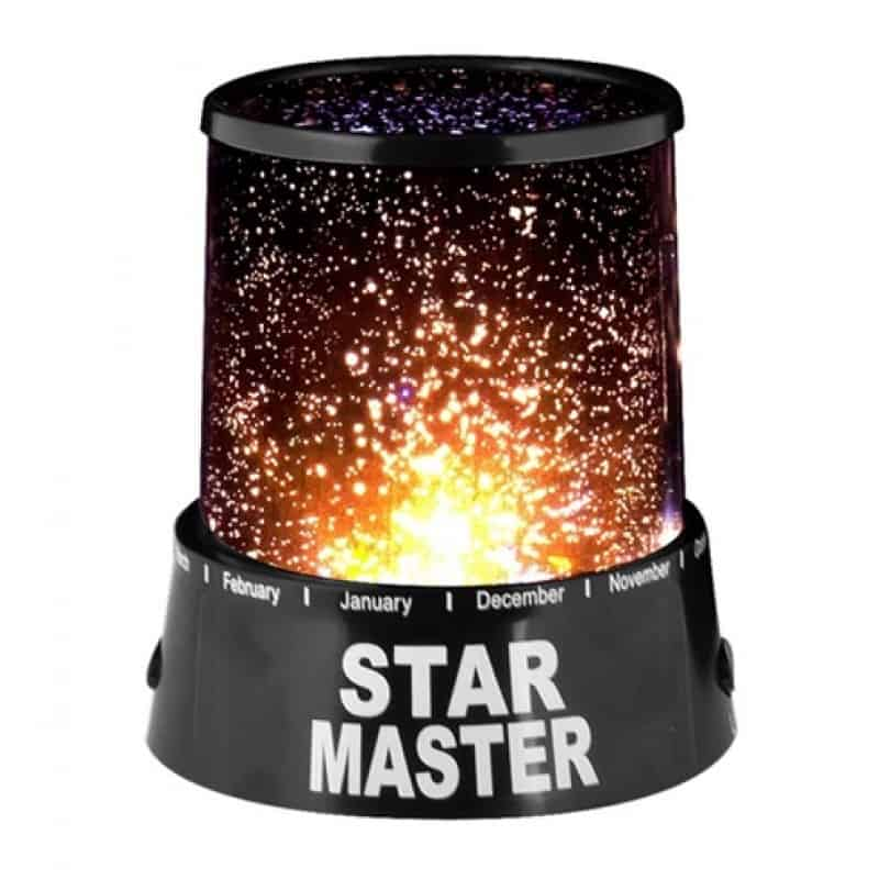 lampa cu proiector constelatie star master