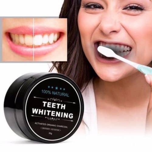 pudra albire dinti