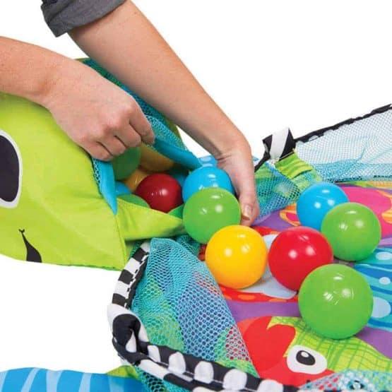 centru de joaca cu bile bebe saltea cu activitati1