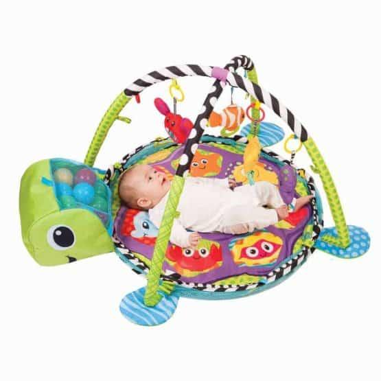 centru de joaca cu bile bebe saltea cu activitati2