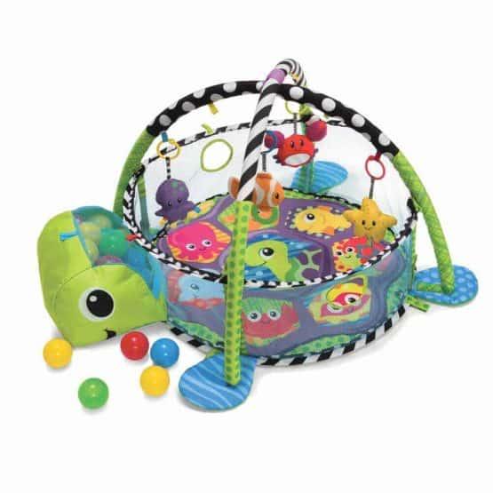 centru de joaca cu bile bebe saltea cu activitati3