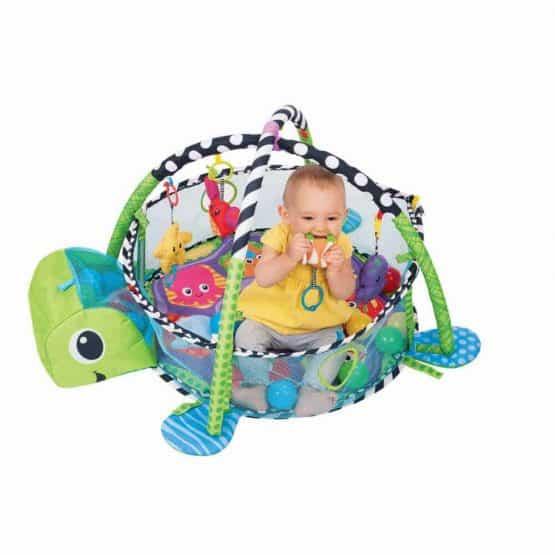 centru de joaca cu bile bebe saltea cu activitati4