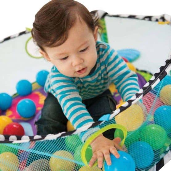 centru de joaca cu bile bebe saltea cu activitati6