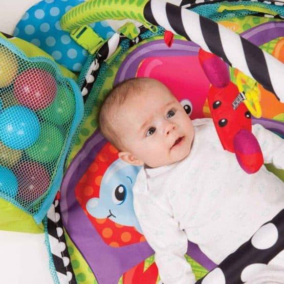 centru de joaca cu bile bebe saltea cu activitati7