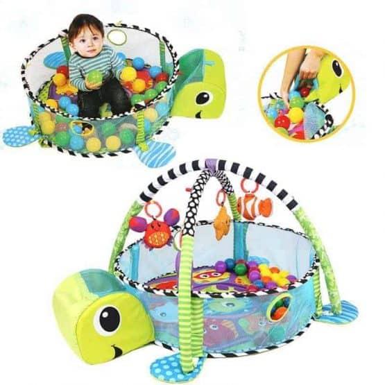 centru de joaca cu bile bebe saltea cu activitati8