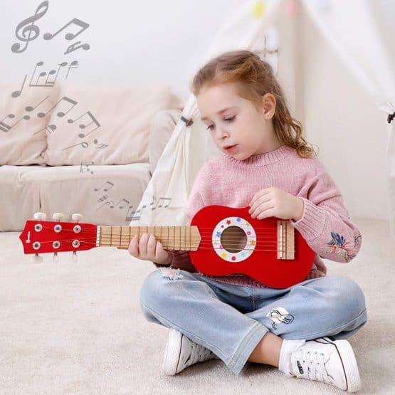 chitara din lemn