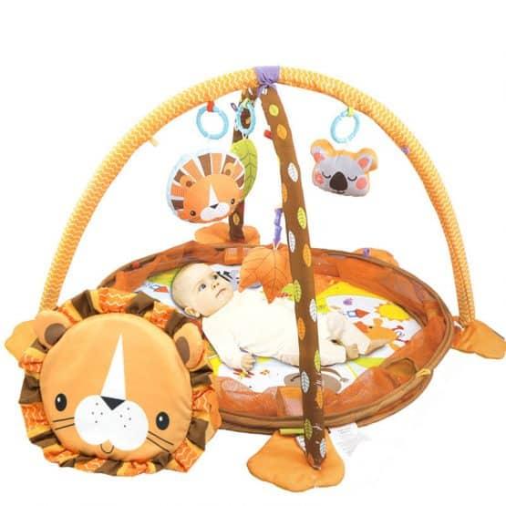 saltea de joaca bebe 3 in 1 lion leu2