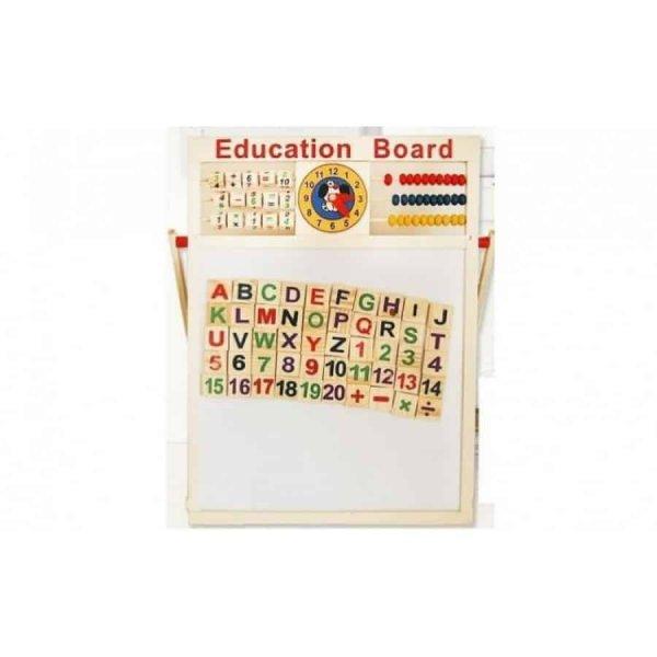 tabla magnetica educativa accesorii incluse 2