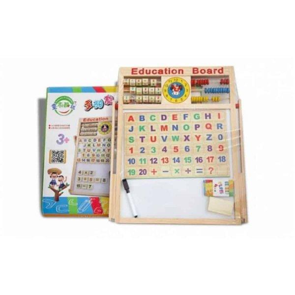 tabla magnetica educativa accesorii incluse 3