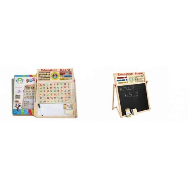 tabla magnetica educativa accesorii incluse 4