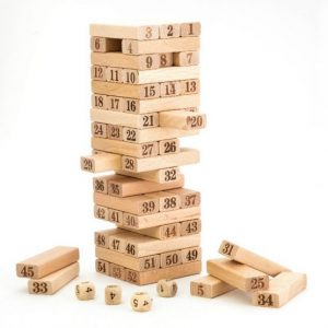 turn jenga lemn