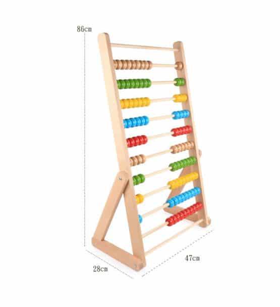 abac din lemn gigant pentru copii1
