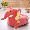 fotoliu de plus elefant roz