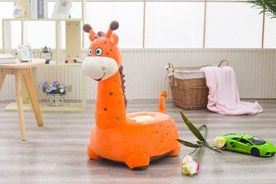 girafa plus fotoliu portocaliu3