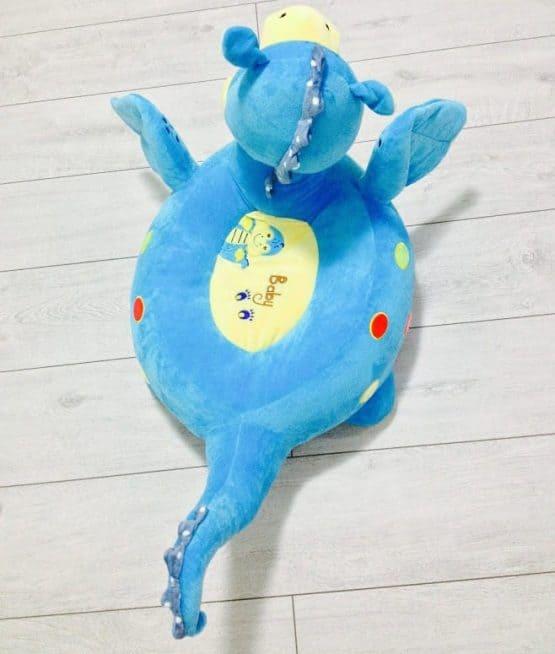 jucarie plus calarit dragon albastru