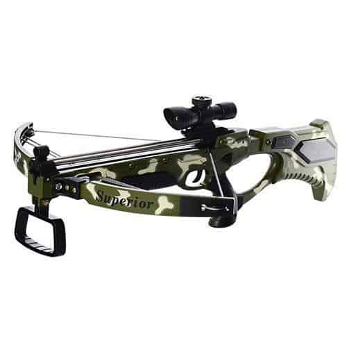 set complet arbaleta crossbow camouflage