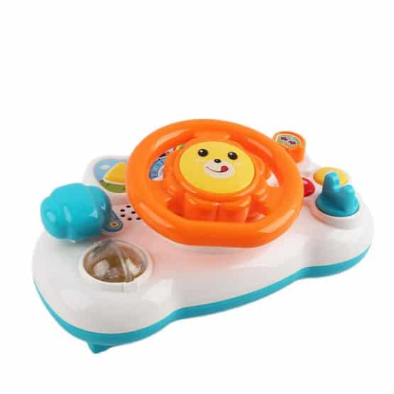 volan interactiv jucarie bebe steering wheel puzzle2