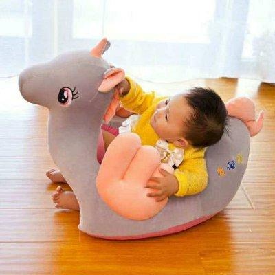 fotoliu-din-plus-unicorn-gri