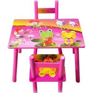 masuta copii cu doua scaune