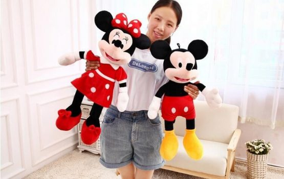 minnie si mickey mouse 50 cm3