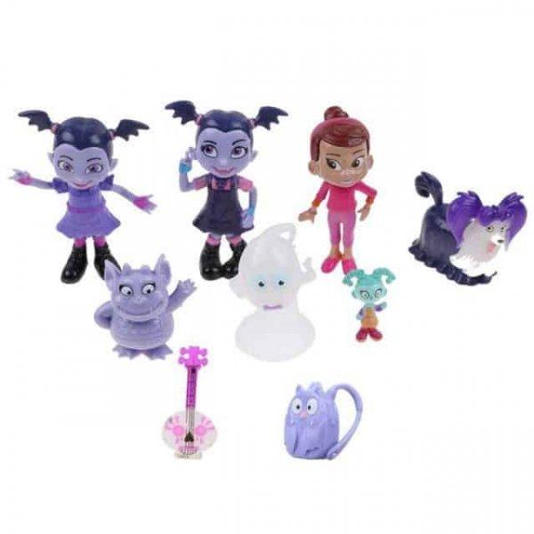 set 9 figurine vampirina