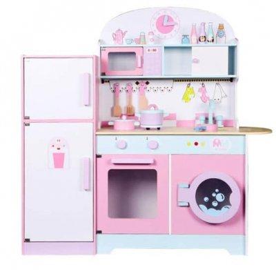bucatarie de jucarie cu frigider