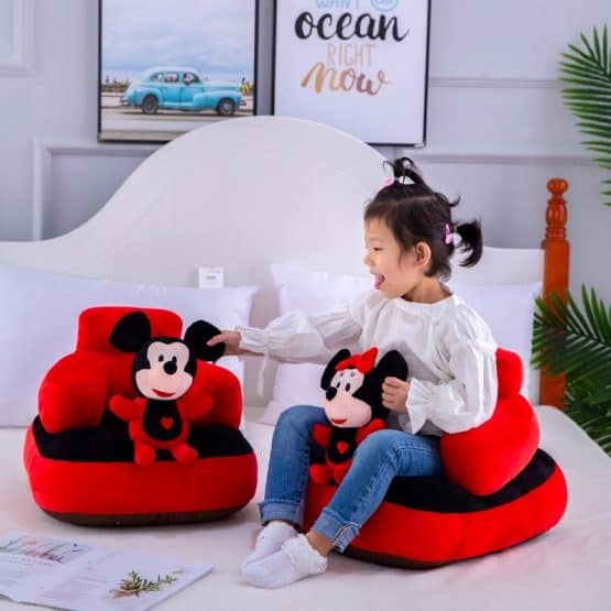 fotoliu din plus mickey si minnie