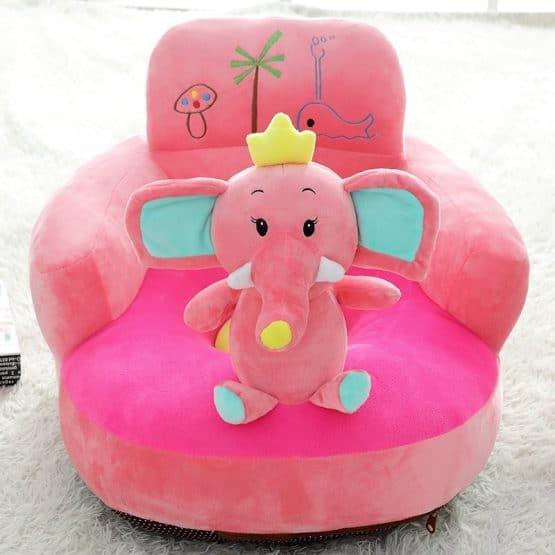 fotoliu plus bebe cu spatar elefantel baby l1