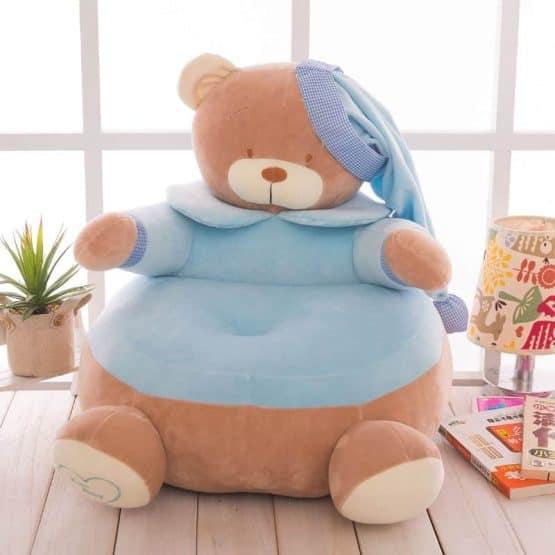 fotoliu plus ursul teddy bleu2