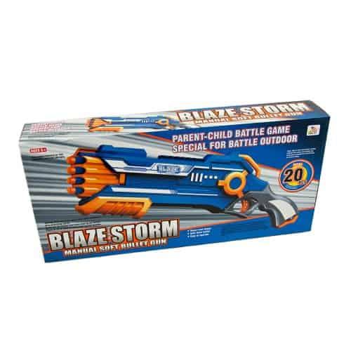 arma de jucarie semi automata cu gloante din burete 3