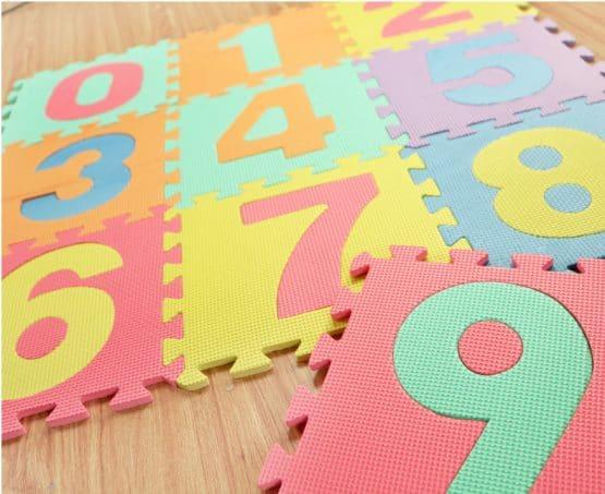 covorase puzzle eva spuma litere cifre1