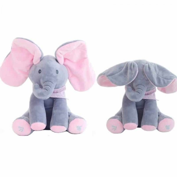elefant interactiv din plus peek a boo 2