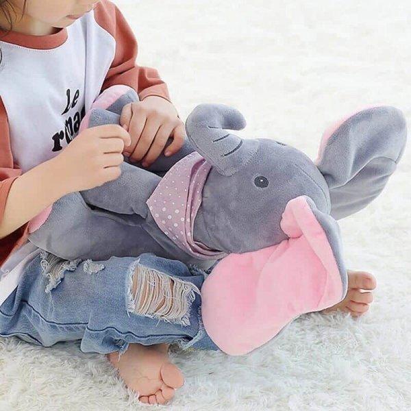 elefant interactiv din plus peek a boo 5