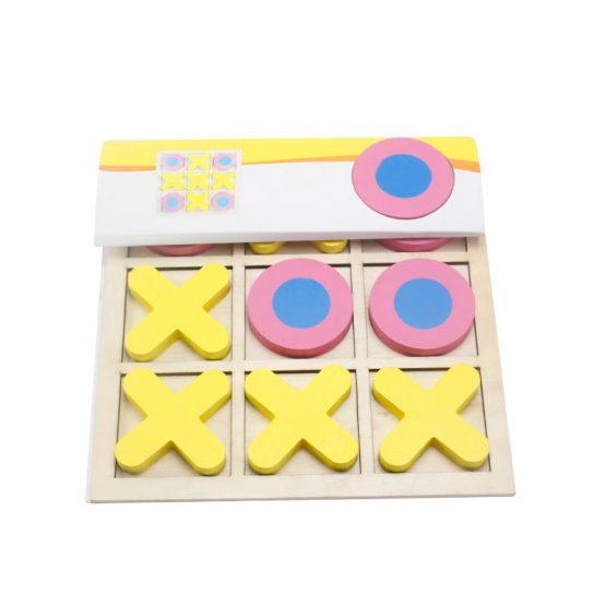 joc lemn x si 0 puzzle educativ1