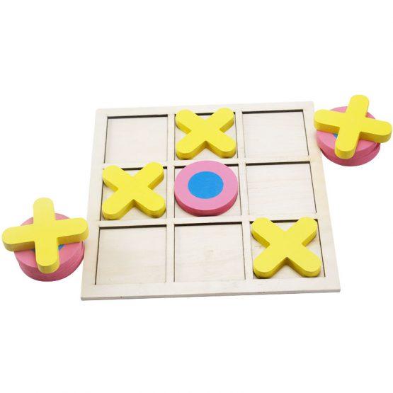 joc lemn x si 0 puzzle educativ3