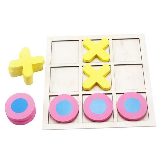 joc lemn x si 0 puzzle educativ4