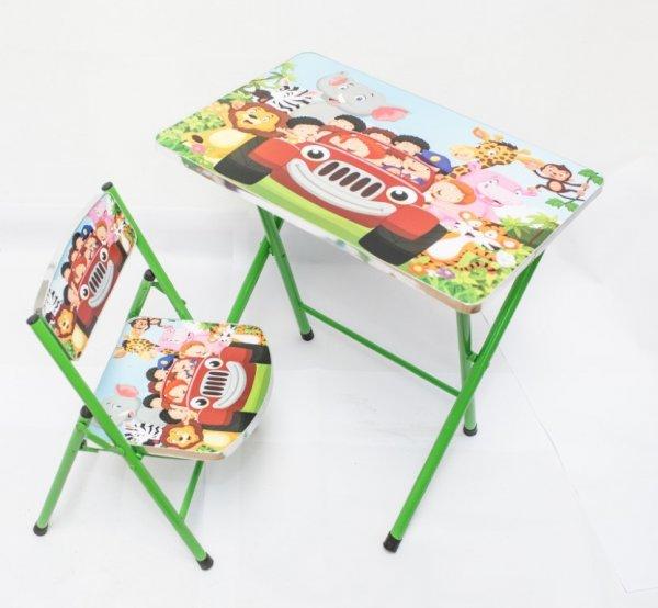 masuta si scaunel pliabile