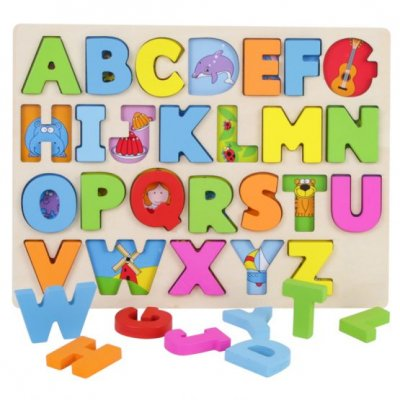 puzzle litere si animale