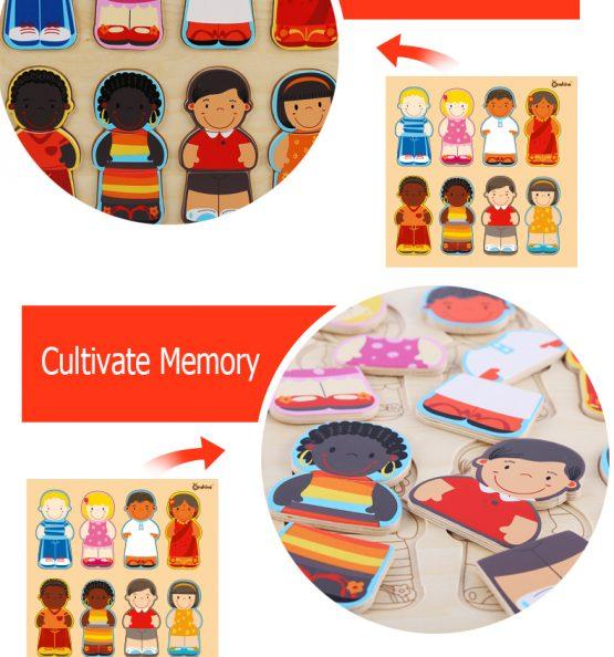 puzzle lemn rasele umane onshine5