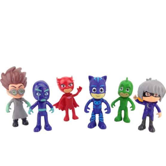 set figurine eroi in pijama 6 figurine1