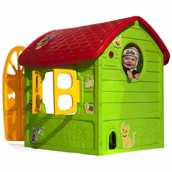 casuta de joaca pentru copii verde 1