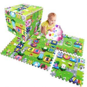 covoras de joaca puzzle mare