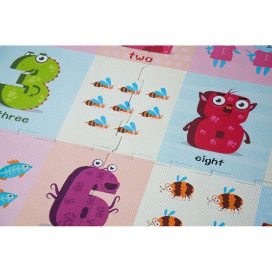 covoras de joaca puzzle pentru bebe spuma cifre animale2