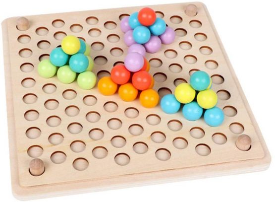 joc montessori indemanare si asociere culori ham bebe7