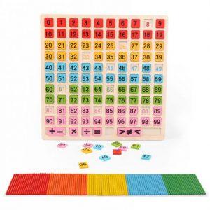 joc din lemn operatii matematice