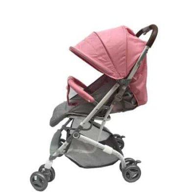 carucior bebe roz