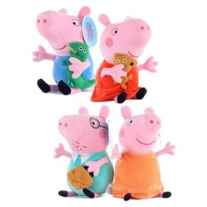 set 4 jucarii din plus peppa